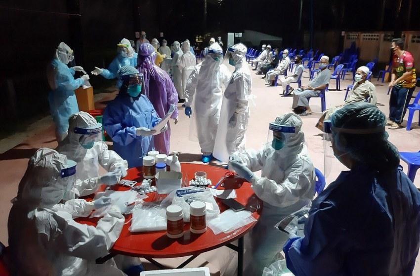 Thailand records five new coronavirus cases in state quarantine