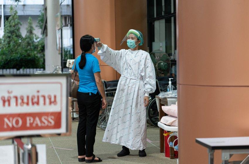 COVID-19 temperature screening in Thailand