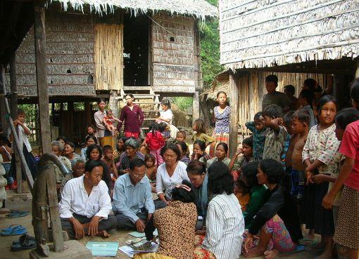 Takeo province, Cambodia