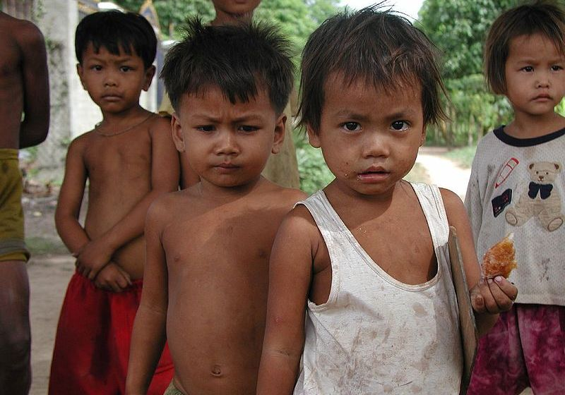 Cambodian Gang Mutilate Children and Use Them As Beggars