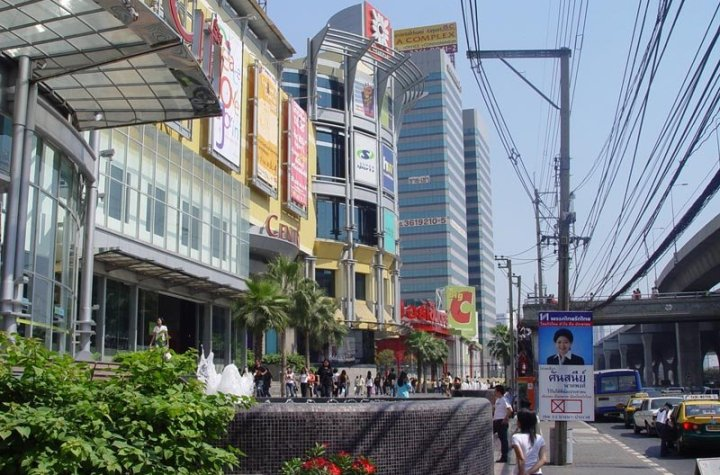 Central Bang Na shopping mall in Bangkok