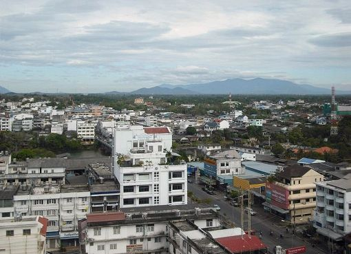 View of Chanthaburi city