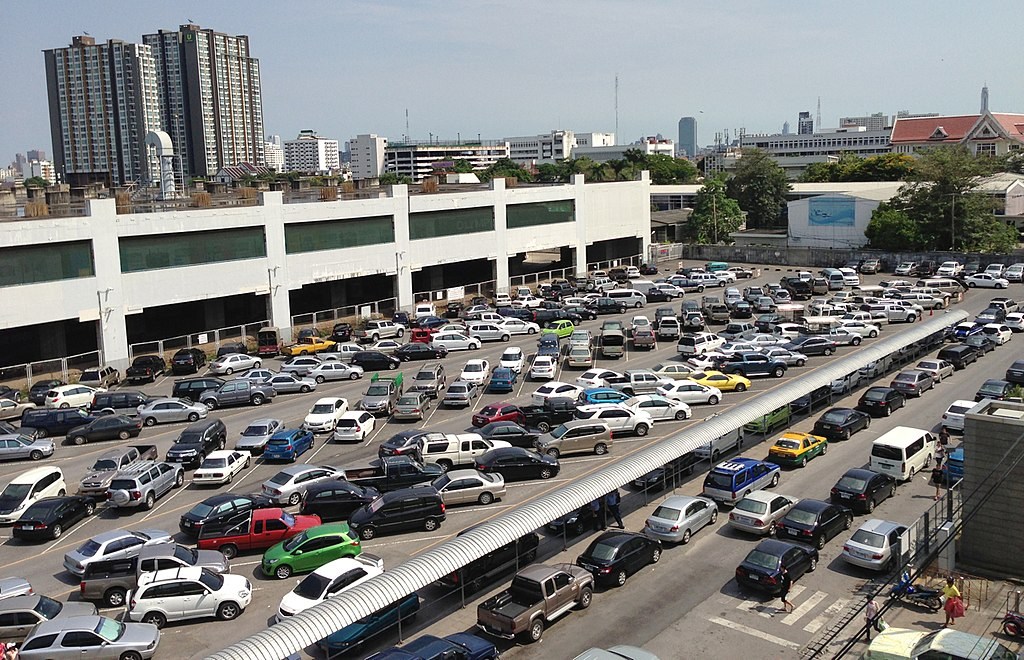 Chatuchak car park