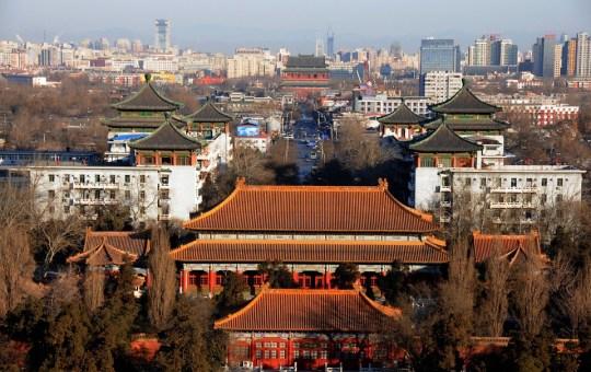 View of Beijing, China