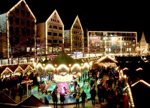 Christmas market in Ulm, Germany