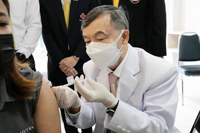 ChulaCov19 vaccine human trials