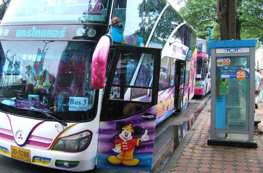 Five killed in tour bus blaze in Khon Kaen province
