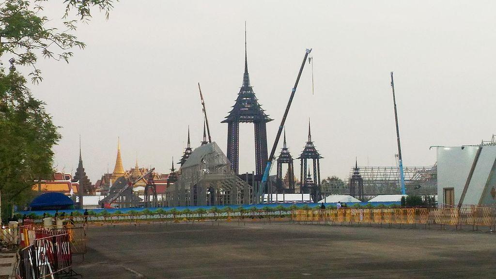 Royal Crematorium of King Bhumibol Adulyadej in Sanam Luang, Bangkok
