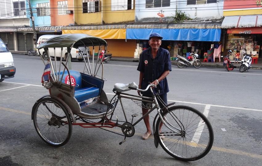 Samlor rickshaw in Thailand