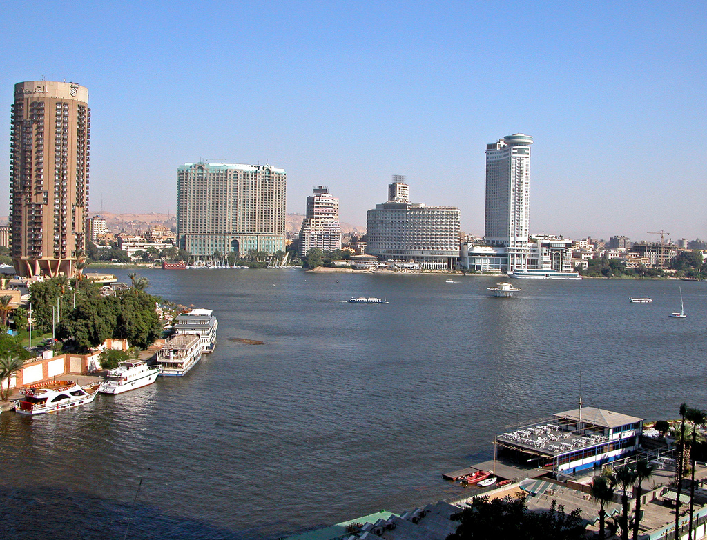 Cairo and Nile River