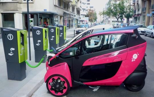 Toyota i-Road electric car
