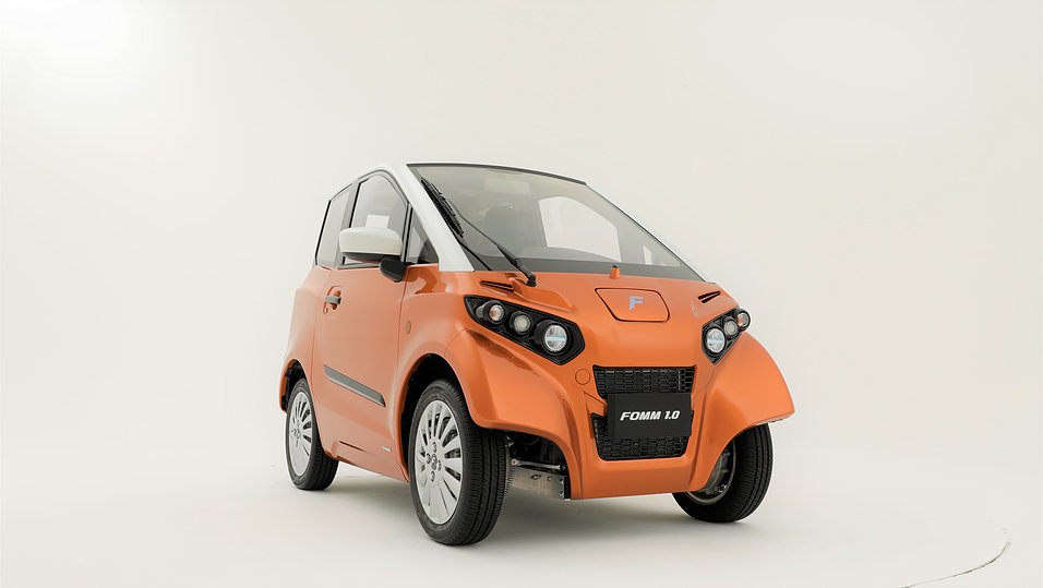 FOMM One electric car