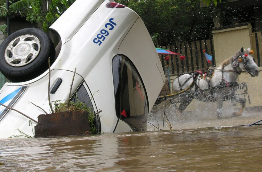 At Least 59 Killed after Floods Hit Indonesia