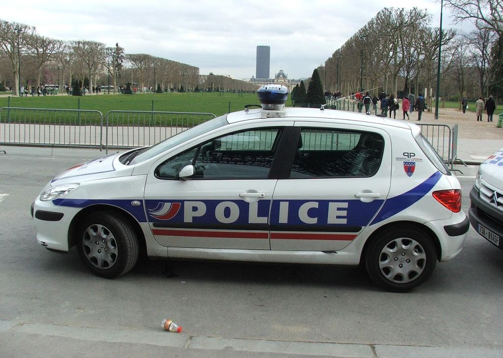 French police Peugeot 307
