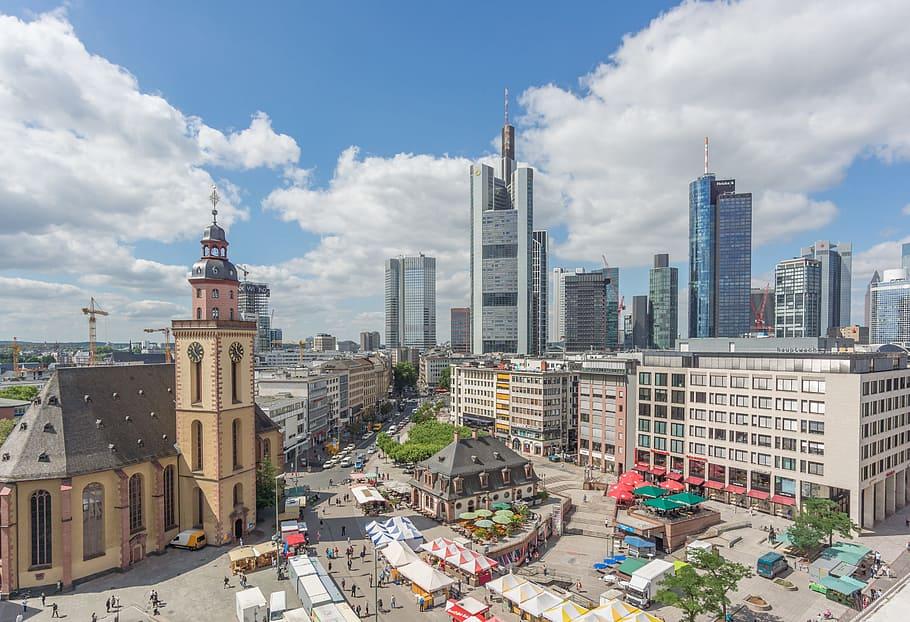 St. Catherine's Church in Frankfurt, Germany