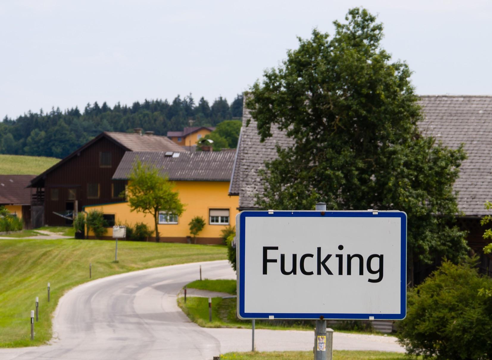 Fugging Unbelievable! Austrian Village to Ditch Unfortunate Obscene Name