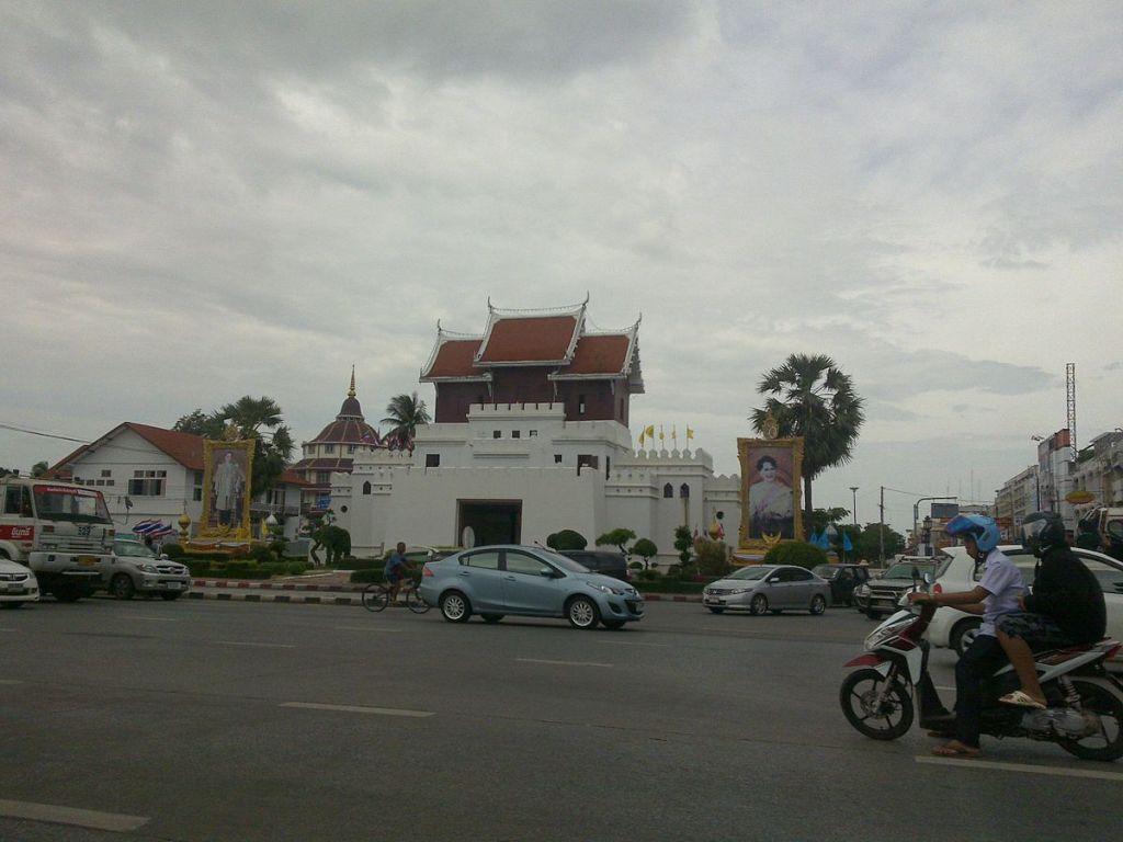 Main Gate of Korat in Nakhon Ratchasima