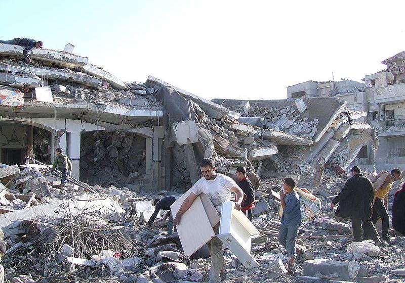 Missiles in Rafah, Gaza