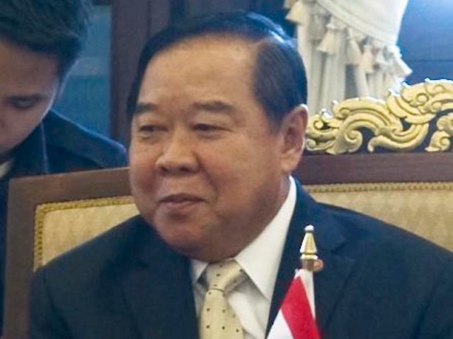Gen Prawit says 3 more months before political campaigning can start
