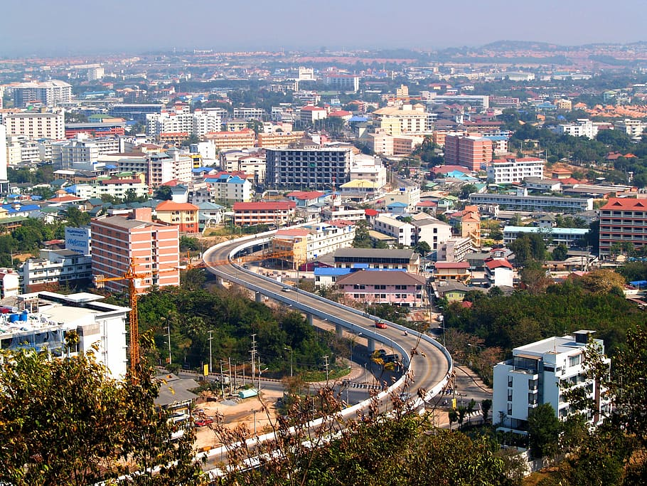 General view of Pattaya