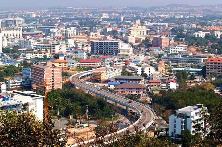 General view of Pattaya