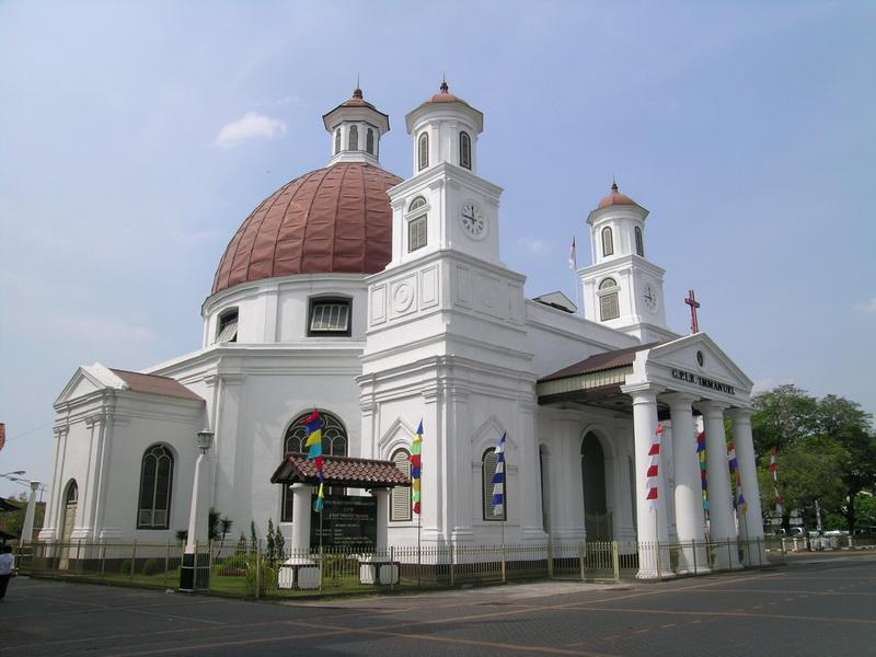 Gereja Blenduk Church in Indonesia