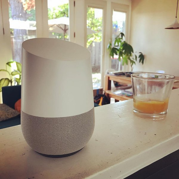 "Google Home: a $129 speaker that plays advertisements when you ask it for a ""daily briefing"""