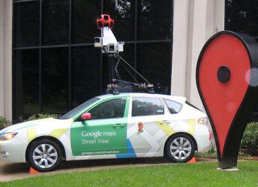 Google Street View Subaru Impreza at Google headquarters