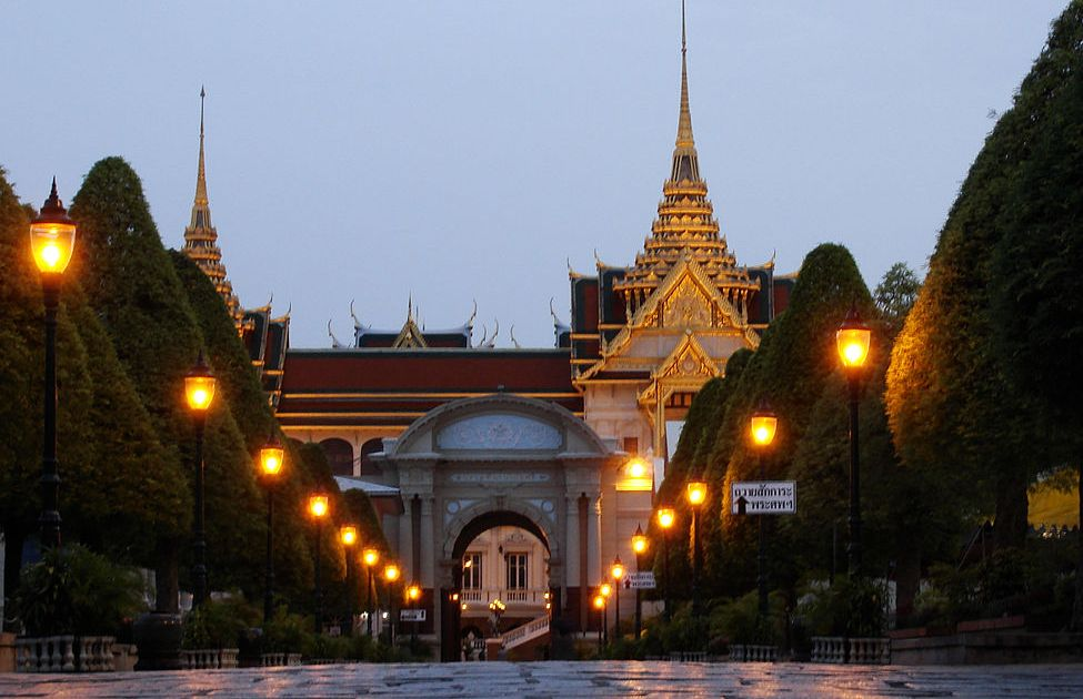Entrance of The Grand Palace in Bangkok