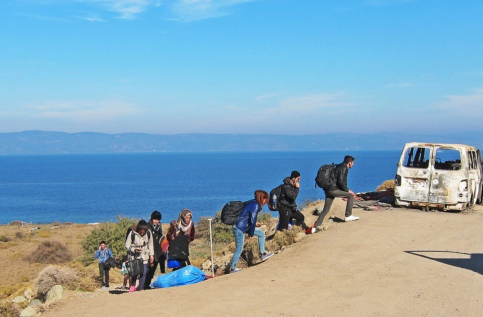 Refugees arriving to Greece