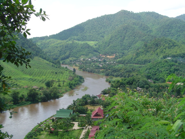 Hills between Chiang Mai and the border with Myanmar