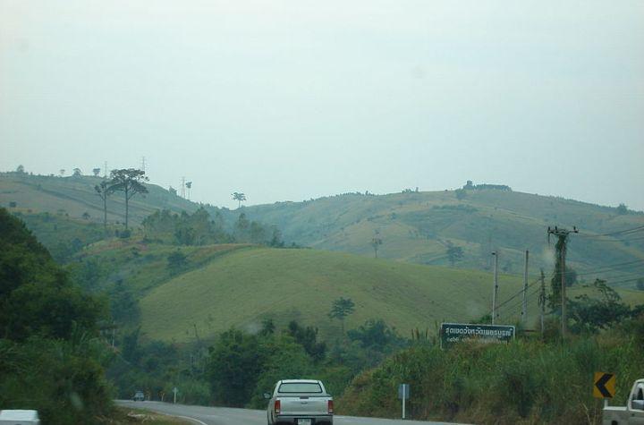 Phetchabun-Phitsanulok road
