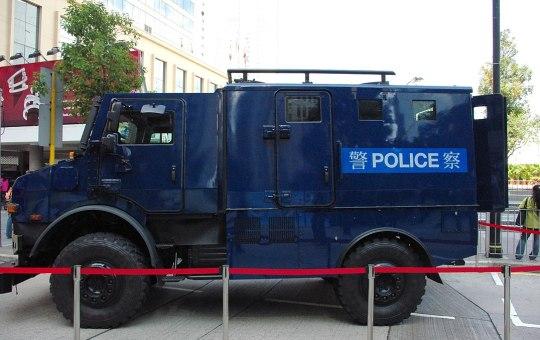 SDU Hong Kong Police Mercedes Unimog
