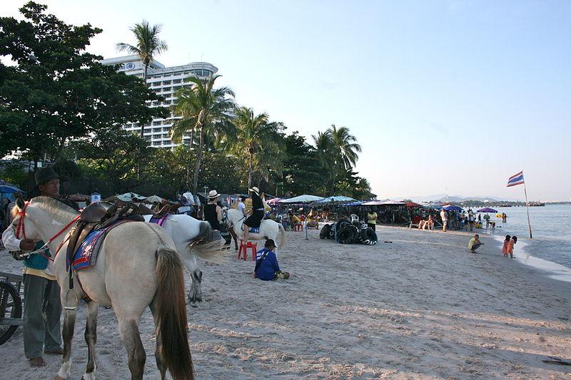 Hua Hin public beach