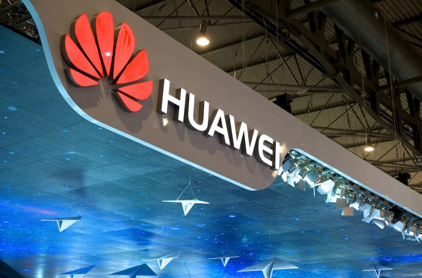 Huawei stand