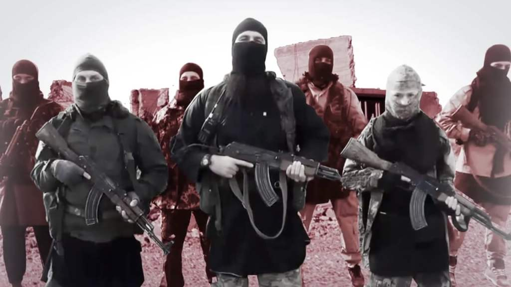 ISIS members in Iraq