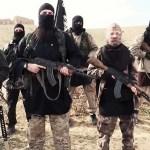 Armed Islamic State (ISIS / Daesh) jihadists
