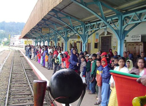 Nilgiri Ooty railway station in India