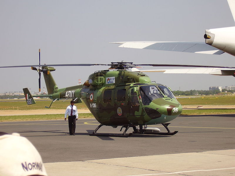 Indian Army Helicopter.
