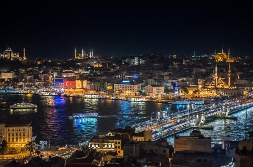 Istanbul by Night, Turkey