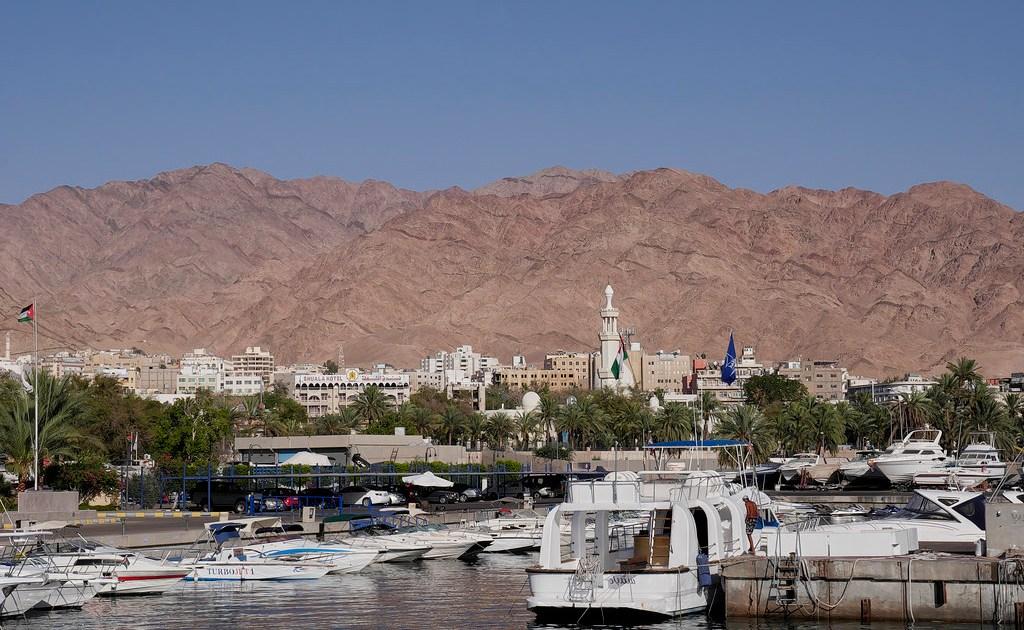 The Aqaba port in Jordan