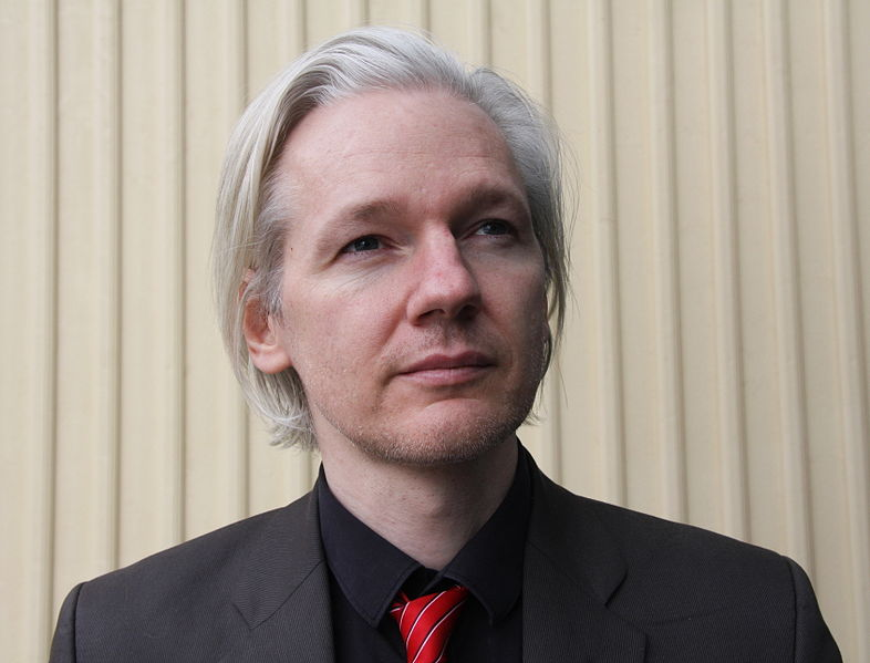 Julian Assange in Norway on March 2010