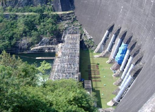The Bhumibol Dam in Tak, Thailand.