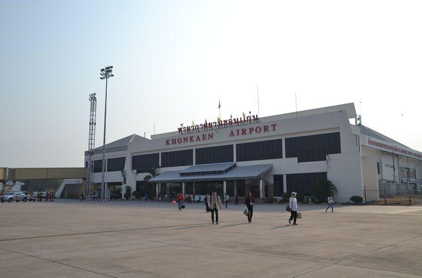 Khon Kaen Airport suspends service after fire