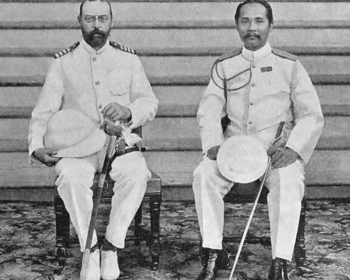 Prince Valdemar and king Chulalongkorn