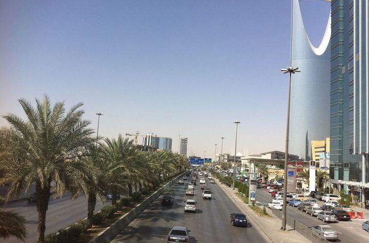 King Fahd Road in Riyadh, Saudi Arabia