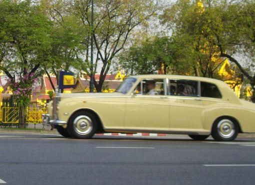 Royal car of HRH Crown Prince Maha Vajiralongkorn in 2012