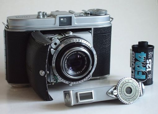 Kodak Retina 1b. Folding camera for 135 film