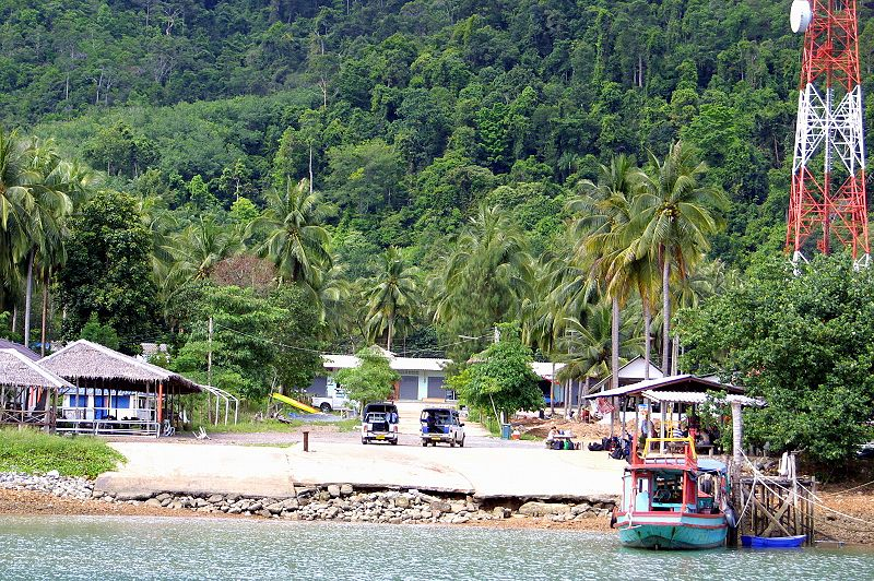 Koh Chang island in Thailand