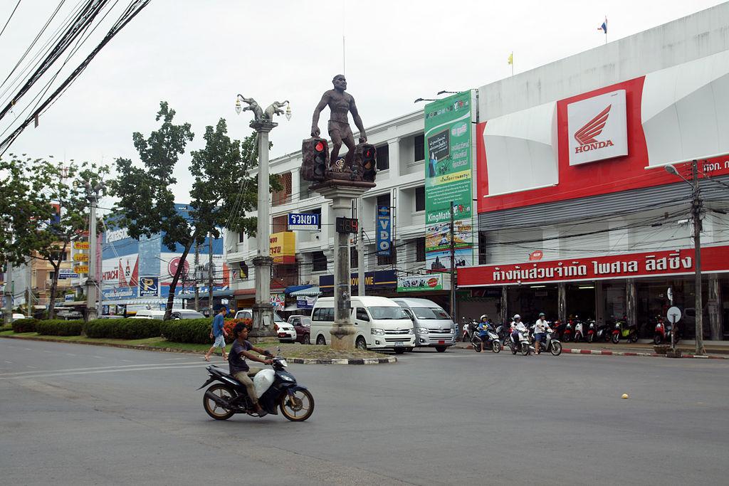 Street in Krabi Town